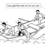 Busting a hole in the Boat